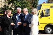 Школи Київщини отримали нові автобуси